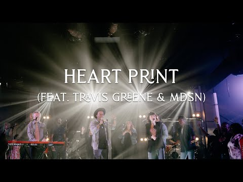 David & Nicole Binion - Heart Print ft. MDSN & Travis Greene (Official Live Video)