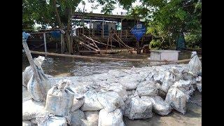 Flood threat looms large over Guwahati; Brahmaputra flows above danger level