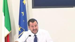 Salvini - #Sindacati chiedono grande piano per opere pubbliche (15.07.19)