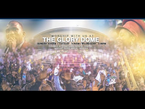 FROM THE GLORY DOME: APRIL 2019 TESTIMONY & THANKSGIVING SERVICE. 28-04-19