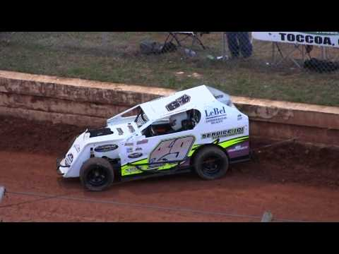 UCCMS Heat & Main @ Toccoa March 17th 2018 - dirt track racing video image