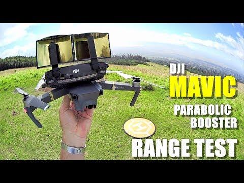 DJI MAVIC PRO Review - Part 4 - [6.4 Mile In-Depth Parabolic Range Booster Test 😮] - UCVQWy-DTLpRqnuA17WZkjRQ