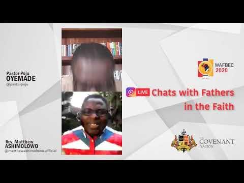 WAFBEC2020 ONLINE SERIES with Rev. Matthew Ashimolowo