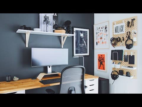 DIY Home Office and Desk Tour — A Designer's Workspace - UCSLeoz5odIGS2GdlbHbCAUg