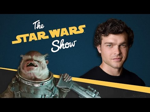 Exclusive Chat with Alden Ehrenreich and Details on Rogue One's Space Monkey | The Star Wars Show - UCZGYJFUizSax-yElQaFDp5Q