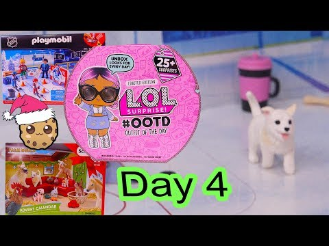 Day 4 ! LOL Surprise - Playmobil - Schleich Animals Christmas Advent Calendar - Cookie Swirl C - UCelMeixAOTs2OQAAi9wU8-g
