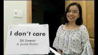 I DON'T CARE (Ed Sheeran & Justin Bieber) Học tiếng Anh qua bài hát|Thảo Kiara