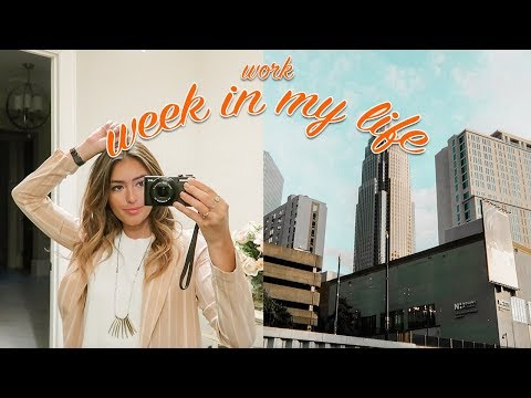 FIRST WEEK OF WORK: WEEK IN MY LIFE - UC-27McNXi7E4Z3H1kZnTjzg