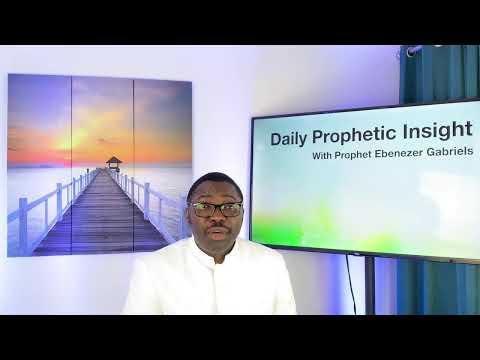 Prophetic Insight Mar 24th, 2021