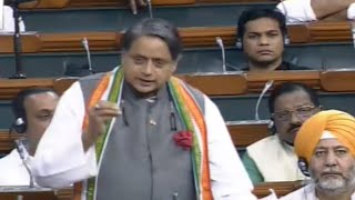 'Political equivalent of demonetisation': Shashi Tharoor on Article 370
