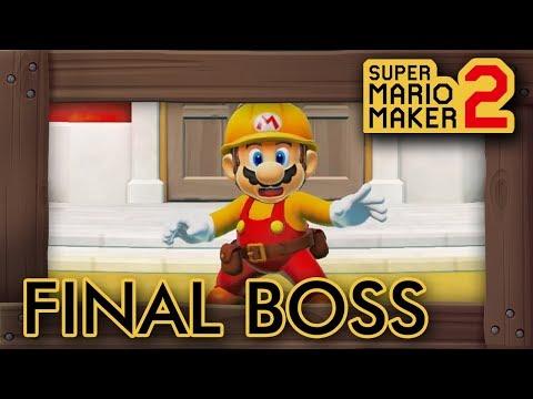 Super Mario Maker 2 - Final Boss & Ending - UCZU03wNQEGmDkGcNN-BT2Ng