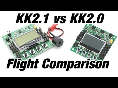 HobbyKing KK2.1 vs KK2.0 Flight Test Comparison - UCF9gBZN7AKzGDTqJ3rfWS5Q