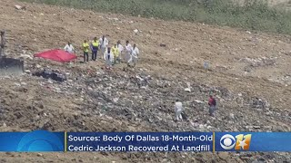 Sources: Body Of Dallas 18-Month-Old Cedric Jackson Recovered At Landfill, Amber Alert Discontinued