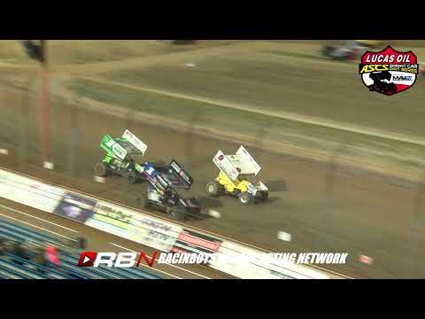 Lucas Oil ASCS Jesse Hockett/Daniel McMillin Memorial at Lucas Oil Speedway Friday September 20, 2019 - dirt track racing video image