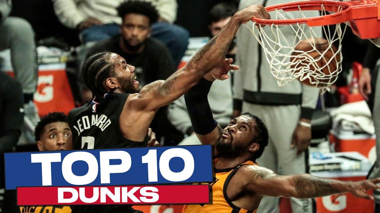 Top 10 DUNKS of the Playoffs! 💪💥