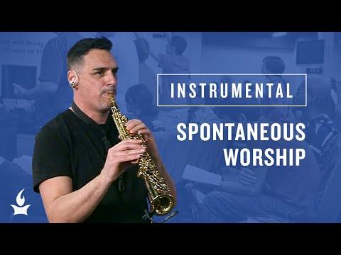 (Instrumental) Soprano Saxophone Selah -- The Prayer Room Live Moment