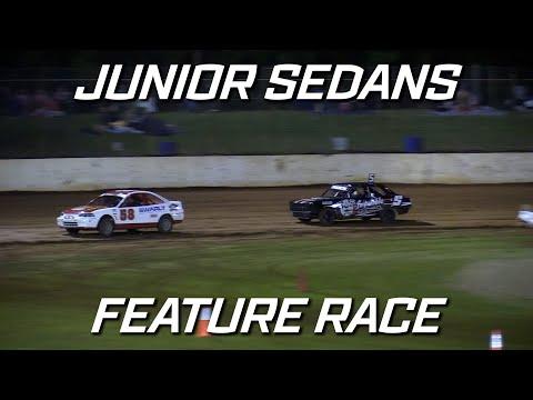 Junior Sedans: New Stars - A-Main - Kingaroy Speedway - 16.10.2021 - dirt track racing video image