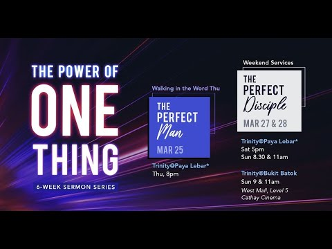 Trinity Christian Centre - Sat 5pm (SGT) English Weekend Service