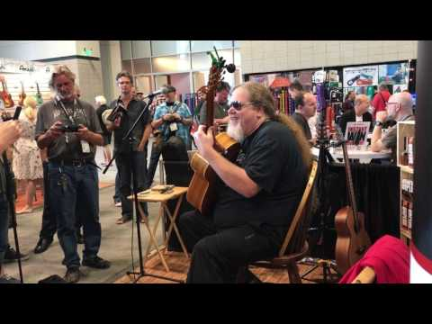 """Ben Lacy performs Mark Morrison's """"Return of the Mack"""" at the Tonewood Amp booth! - default"""