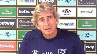 Manuel Pellegrini Full Pre-Match Press Conference - Brighton v West Ham - Premier League