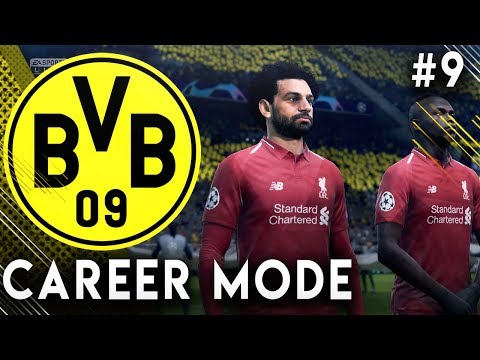 FIFA 19 Borussia Dortmund Career Mode EP9 - Insane Champions League Game VS Liverpool!!