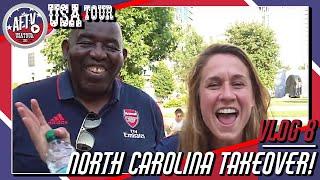 Arsenal Fans Invade North Carolina! | AFTV Vlog in Charlotte Day 7/8