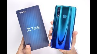 Vivo Z1 Pro Unboxing & Hands on Review - Sonic Blue Color | Camera Samples 🔥
