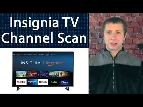 How to Rescan for Channels on Insignia Smart Fire TV