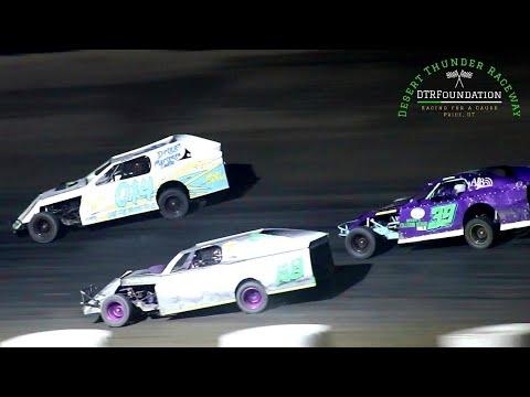 Desert Thunder Raceway 305 Modified Main Event 8/28/21 - dirt track racing video image