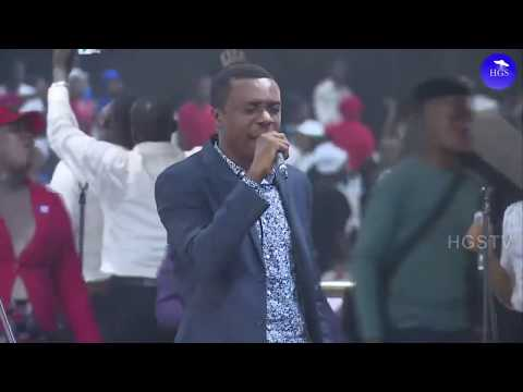 NATHANIEL BASSEY MINISTRATION  RCCG HOLY GHOST CONGRESS 2019