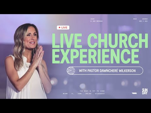 Join us LIVE at VOUS Church  Sunday Service - April 18th, 2021 at 7PM