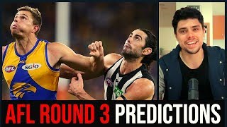 AFL Round 3 (2019) Predictions
