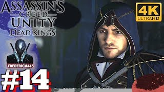 ASSASSIN'S CREED UNITY [FR] Séquence 13 Dead Kings  Mémoire 3 & 4 100% Sync #14 4K