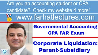 Parent-Subsidiary Liquidation | Corporate Liquidation Distribution | Corporate Income Tax Course