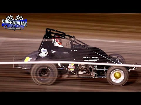Sweetwater Speedway Wingless Sprint Car Main Event 7/4/21 - dirt track racing video image