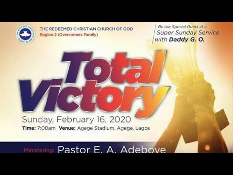 RCCG REGION 2 FAMILY SPECIAL SERVICE - TOTAL VICTORY