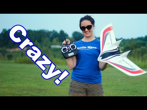 Our First Delta Wing Experience - Wing Wing Z-84 RC Plane - TheRcSaylors - UCYWhRC3xtD_acDIZdr53huA