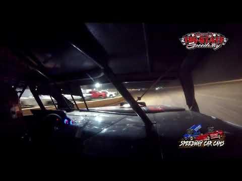 #25 Ryan Adams - USRA B-Mods - 9-11-2021 Tri-State Speedway - In Car Camera - dirt track racing video image