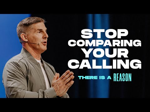 Stop Comparing Your Calling