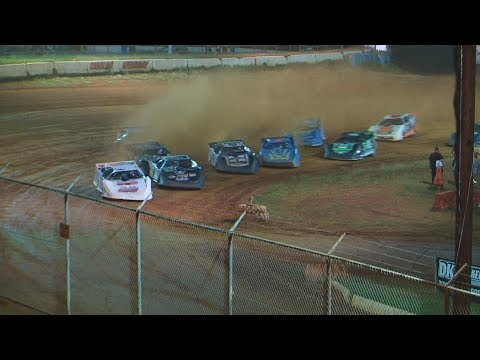 35 Lap Feature / $4,000 to win  follow us on facebook https://www.facebook.com/pages/Speedway-Videos/208823702549862?ref=hl  All graphics ,video, photography are property of Richard Ford to use this video in a commercial player, advertising or in broadcasts, please email flipper-13@comcast.net for permission - dirt track racing video image