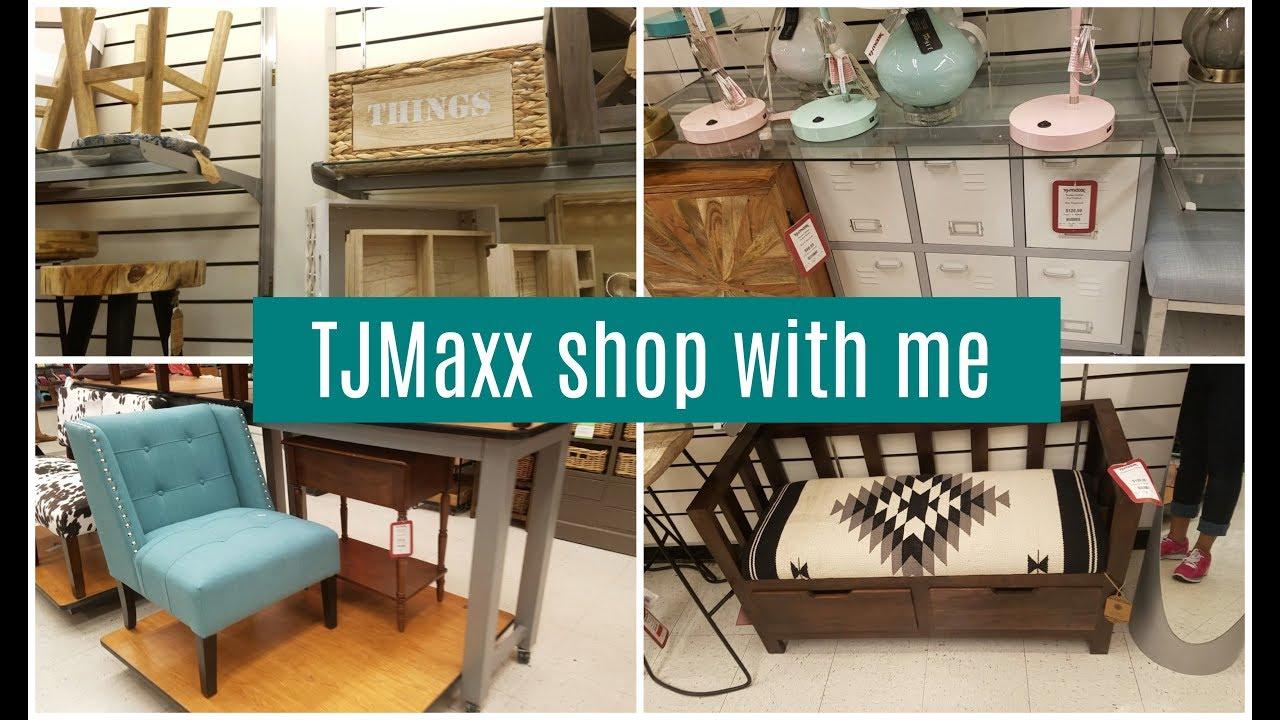 tjmaxx shop with me home decor