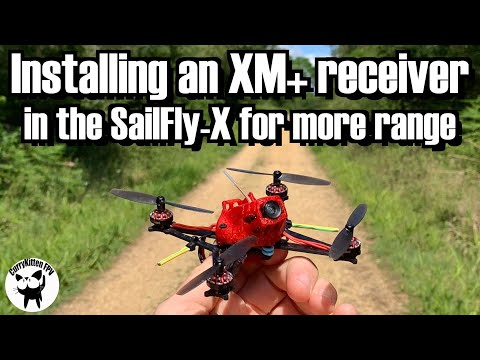 Installing an XM+ in the SailFly-X for increased range - UCcrr5rcI6WVv7uxAkGej9_g