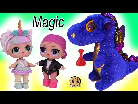 Potion Party ! Big Sister LOL Surprise Halloween Magic Spell Play Video - UCelMeixAOTs2OQAAi9wU8-g