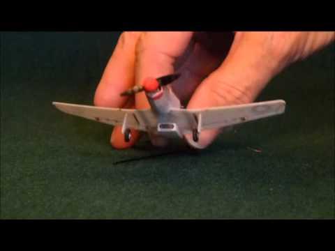 P-51D Mustang 1:96 Olcekli, 8 Kanalli Ultra Micro Ucak