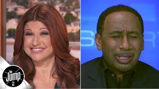 'Rachel, what are you doing to me?!' - Stephen A. reacts to names Knicks are considering   The Jump