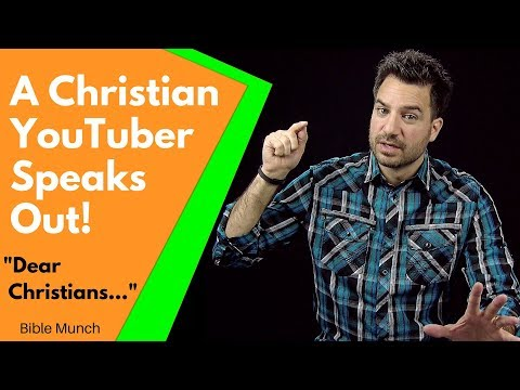 A Christian YouTuber Speaks Out:  Dear Christians      What is Mercy