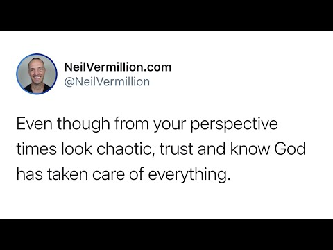 Everything Has Been Taken Care Of - Daily Prophetic Word