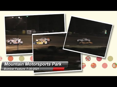 Mountain Motorsports Park - Bomber Feature - 7/30/2021 - dirt track racing video image