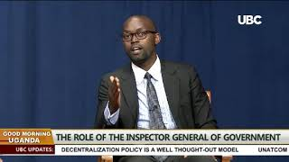 Good Morning Uganda hosting Deputy IGG George Bamugemereire part 2