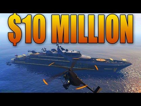 BUYING AND CUSTOMIZING A $10 MILLION SUPER YACHT! (GTA Online DLC) - UC36MGPfPwOWafAXauiV4LdA